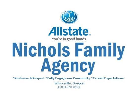 Nichols Allstate Logo . W.Ville and phone