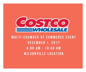 Multi-Chamber Event AM Networking - Costco @ Costco Wilsonville | Wilsonville | Oregon | United States