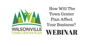 Town Center Plan Webinar @ Online