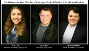 WACC Trades & Workforce Scholarship Ceremony @ Wilsonville Chamber of Commerce | Wilsonville | Oregon | United States