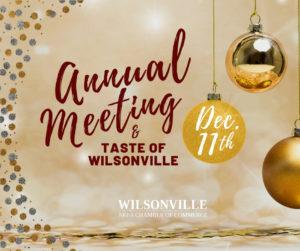 2019 WACC Annual Meeting & Taste of Wilsonville @ Al Kader Shrine Center | Wilsonville | Oregon | United States