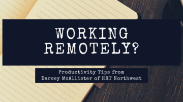 Productivity Tips on Working Remotely