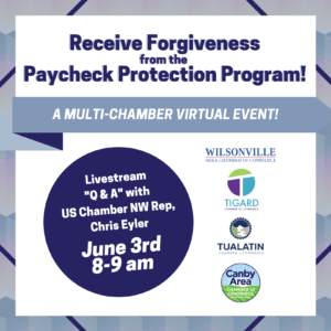 Multi-Chamber Event: Paycheck Protection Program Forgiveness