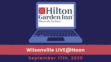 Wilsonville LIVE@Noon: Sep. 17th