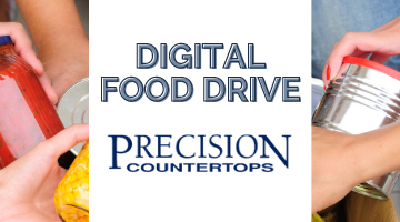 Digital Food Drive by Precision Countertops
