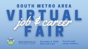South Metro Area Virtual Job/Career Fair